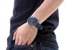 街コンの腕時計