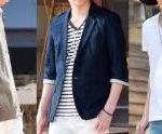 7月の街コン用の男の服装