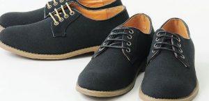 地味な印象を変える靴