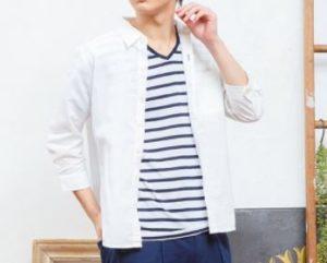 4月の男の服装
