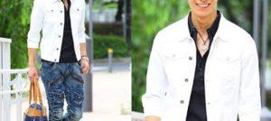 白いジャケットと街コン