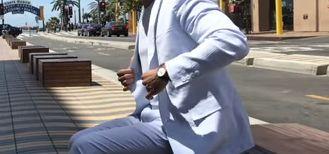 白いジャケットは街コンでモテる?6月の服装におすすめ