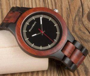 街コン向けの木製腕時計
