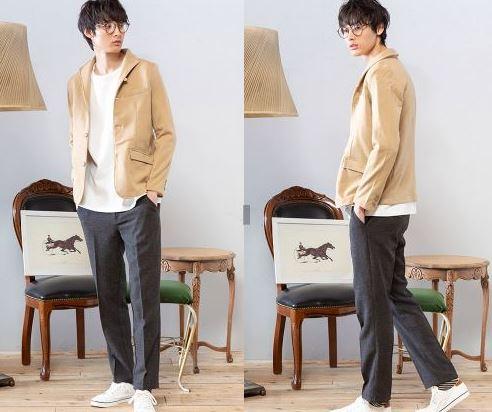 11月の街コン用の男の服装