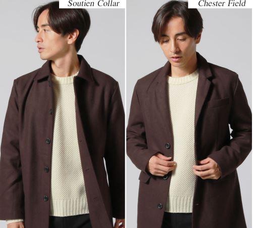 2月の街コンにおすすめの男性の服装はステンカラーコートだ