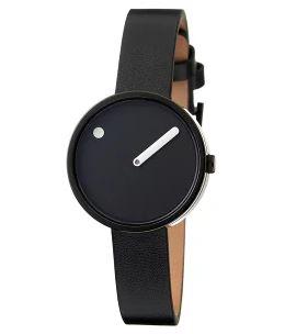モノトーンカラーのピクトの腕時計